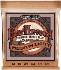Ernie Ball Earthwood Phosphor Bronze Medium-Light Kovové struny na akustickú gitaru