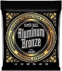 Ernie Ball Aluminium Bronze Light Kovové struny na akustickú gitaru