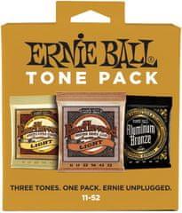 Ernie Ball Acoustic Tone Pack Light Kovové struny na akustickú gitaru