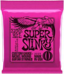 Ernie Ball Nickel Wound Super Slinky Struny na elektrickú gitaru