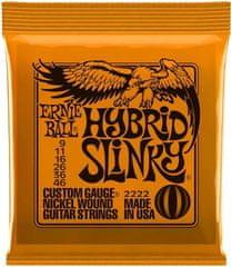 Ernie Ball Nickel Wound Hybrid Slinky Struny na elektrickú gitaru