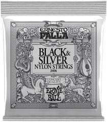 Ernie Ball Ernesto Palla Black & Silver Nylonové struny na klasickú gitaru