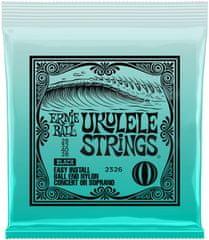 Ernie Ball Ukulele Strings Black Nylon Struny na sopránové ukulele