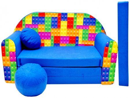 Aga Rozkładana dziecięca sofa MAXX 316