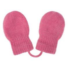 NEW BABY Dětské zimní rukavičky New Baby růžové - 56 (0-3m)