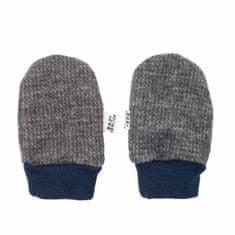BABY SERVICE Zimní kojenecké rukavičky Baby Service Retro šedé