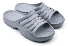 Dámské pantofle FLAMEshoes F-9005 světle šedé