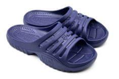 Dámské pantofle FLAMEshoes F-9005 tmavě modré