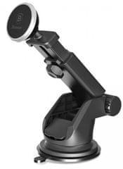 BASEUS Solid teleskopický magnetický držák telefonu do auta (stříbrná), SULX-0S - rozbaleno