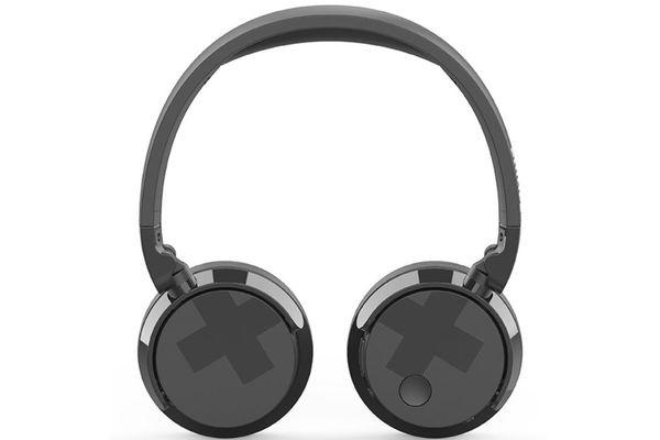philips tabh305 vezeték nélküli Bluetooth fejhallgató 10 m hatótávolság kiváló minőségű 32 mm-es neodímium mágnes hangszórók anc funkció tiszta hangzás erős basszusok mikrofon handsfree telefonáláshoz alacsony súly 15 óra üzemidő egy töltéssel anc-vel multifunkciós gomb