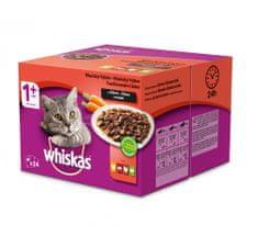 Whiskas Mäsový výber so zeleninou BONUS 24pack