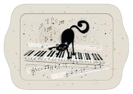 Kiub pladenj, mačkon klaviaturist (1377)