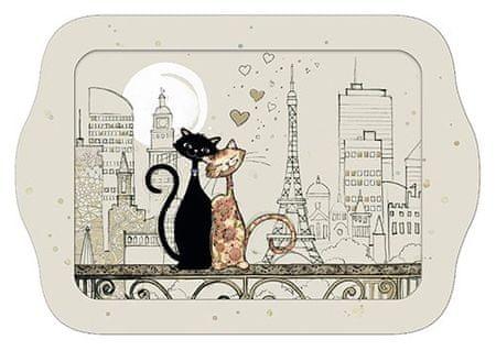 Kiub pladenj, zaljubljena mačkona v Parizu (1378)