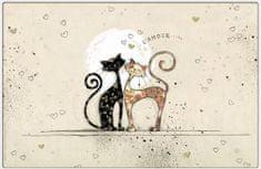Kiub pogrinjek, zaljubljena mačkona (1370)