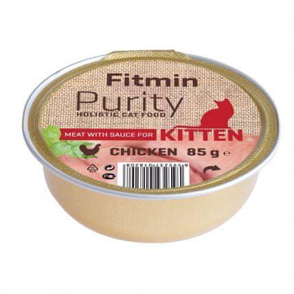 Fitmin Hrana za mačke Cat Purity alutray Kitten Chicken 85 g