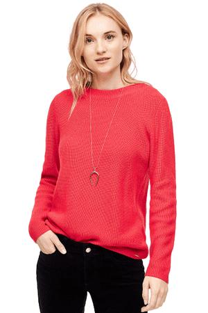 s.Oliver női pulóver, 40, narancssárga