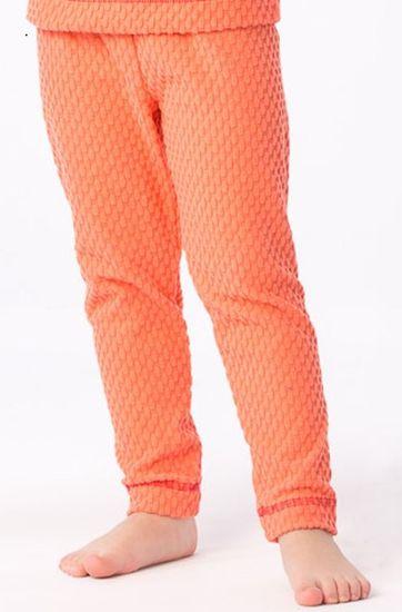 O'Style DC-5455_coral_8_AW17 Dívčí funkční kalhoty Aldo - oranžové