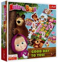 Trefl Máša a medveď-Prajem pekný deň spoločenská hra