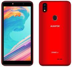 Aligator smartfon S5540 Duo, 2 GB/32 GB, czerwony