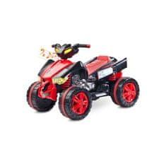 TOYZ Elektrická štvorkolka Toyz Raptor red Červená