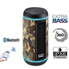 Promate Silox PRO bežični Bluetooth zvučnik, TWS, 30 W, IPX6, LED