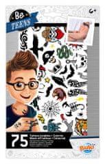 Buki France BeTeens Tetování pro kluky