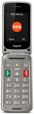 Gigaset GL590, mobil pro seniory, hlasitý, kompatibilní s naslouchátky