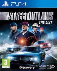 Maximum Games Street Outlaws: The List igra (PS4)