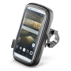 """Interphone Vodoodolné puzdro SMART pre telefóny do veľkosti 6,5"""", úchyt na riadidlá, čierne (SMSMART65)"""