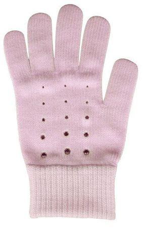 Capu Rękawiczki damskie 55304-C Pink