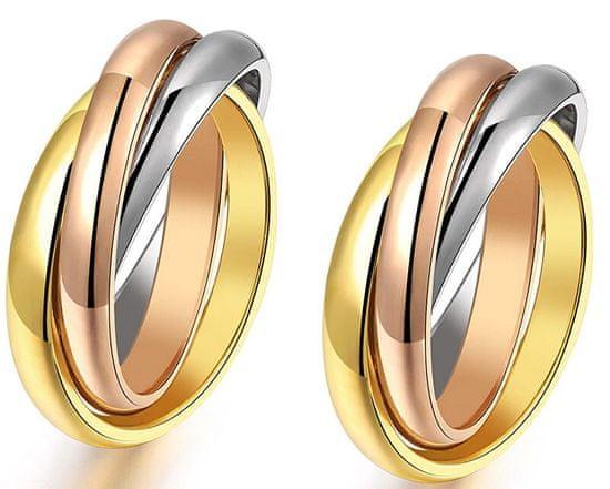 Troli Zvýhodnená sada tricolor prsteňov KRS-247