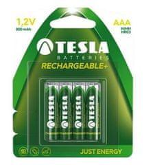 TESLA 1099137119 alkalická nabíjecí baterie AAA (HR03, mikrotužková, blister) 4 ks