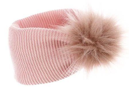 Pupill dekliški trak Pompi, 52 - 54, roza