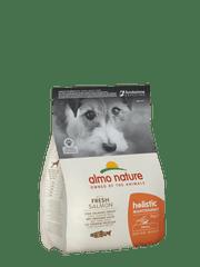 Almo Nature hrana za odrasle pse majhne pasme, losos z rižem, 2kg