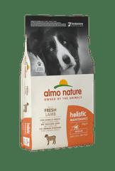 Almo Nature Medium Adult, jagnięcina z ryżem, 12 kg