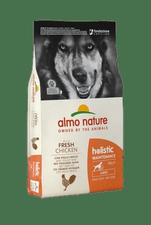 Almo Nature hrana za velike odrasle pse, piščanec z rižem, 12kg