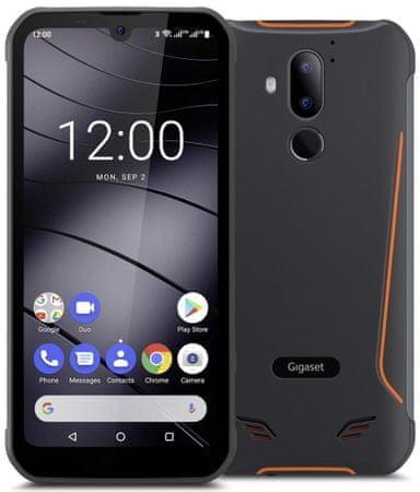 Gigaset smartfon GX290, 3GB/32GB, Black