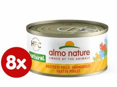 Almo Nature HFC CAT csirke filé 8 x 70 g