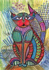 KS Games Cat art 1000 dielikov