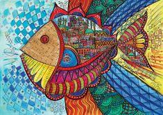 KS Games Colorful fish 1000 dielikov