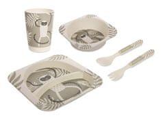 Canpol babies Bambusový set nádobí 5 ks
