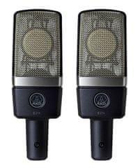 AKG C214 Stereoset Kondenzátorový mikrofón – stereopár
