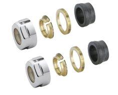 AQUALINE ECO svěrné šroubení pro Měď, 15mm, nikl (CP9990)