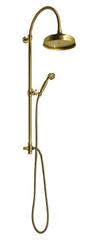 Reitano Rubinetteria ANTEA sprchový sloup k napojení na baterii, hlavová a ruční sprcha