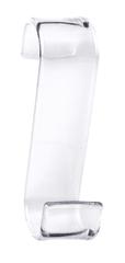 Gedy Háček na otopná tělesa, termoplast, čirá (202500)