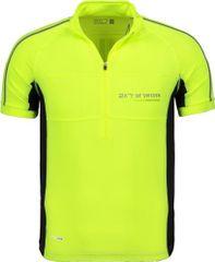 2117 Pánsky cyklistický dres 2117 Tang žltá