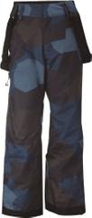 2117 Detské lyžiarske nohavice 2117 Lammhult vínovo červená