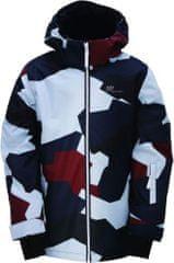 2117 Dětská zimní lyžařská bunda 2117 TÄLLBERG korálově růžová