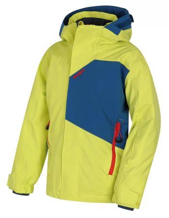 Husky dječja skijaška jakna Zort Kids, 122, svijetlo zelena