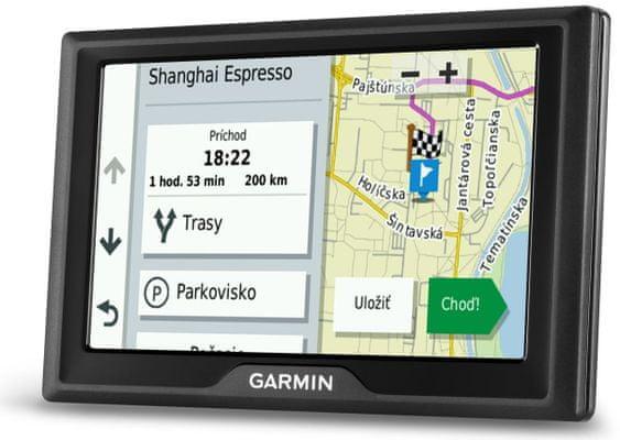 Nawigacja GPS Garmin Drive 52 MT EU podgląd skrzyżowań, asystent zmiany pasa, ostrzeżenie o niebezpieczeństwie, radarach
